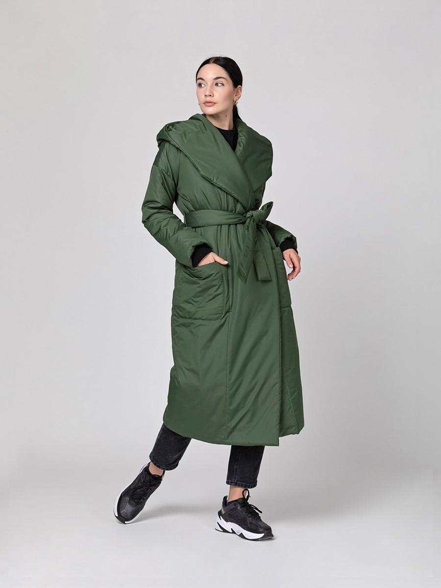 Пуховик-одеяло c капюшоном Riffle Green PHM0217