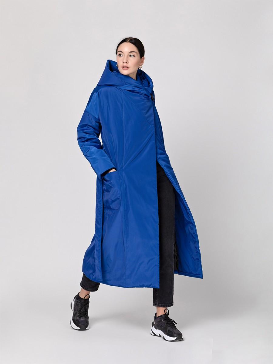 Пуховик-одеяло c капюшоном Azure PHM0220