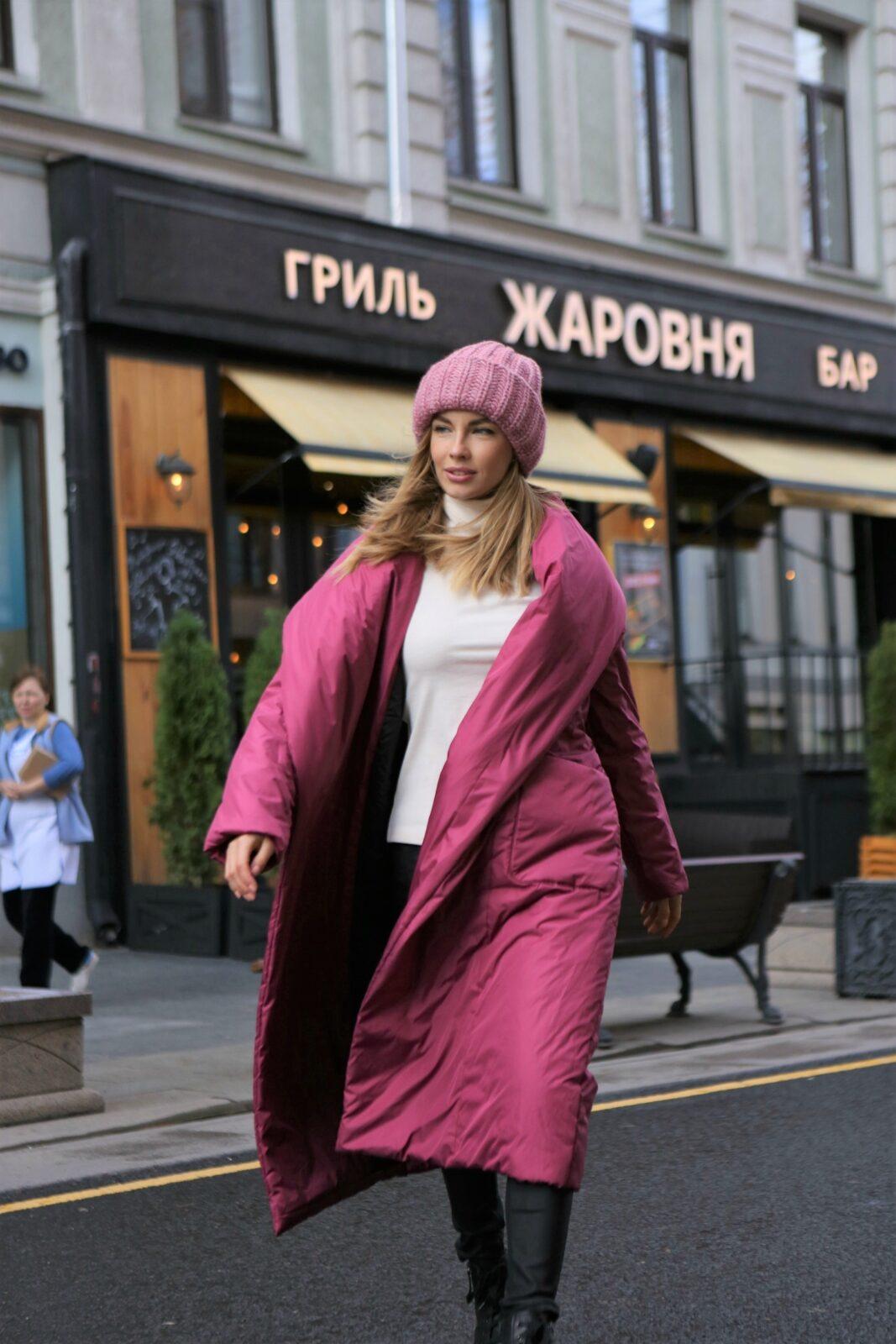 Пуховик одеяло обязательный атрибут женского зимнего гардероба