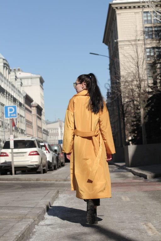 Плащ с капюшоном Golden Yellow PL0215