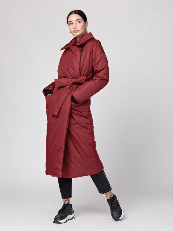 Пуховик-одеяло с английским воротником Bordo PHM0518