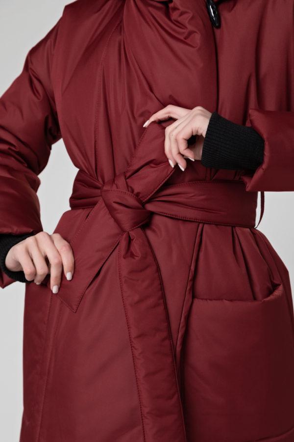 Пуховик-одеяло c капюшоном Bordo