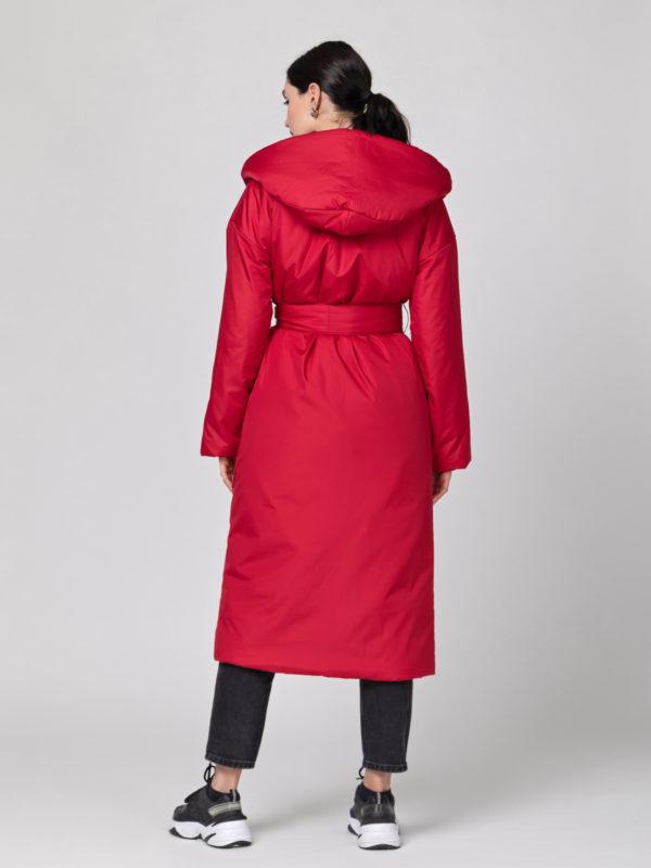 Пуховик-одеяло с капюшоном Jester Red