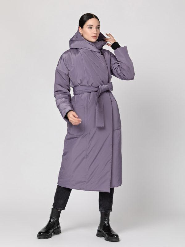 Пуховик-одеяло с капюшоном Lavender