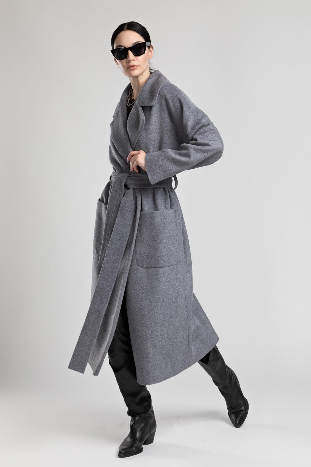 Пальто-халат Grey