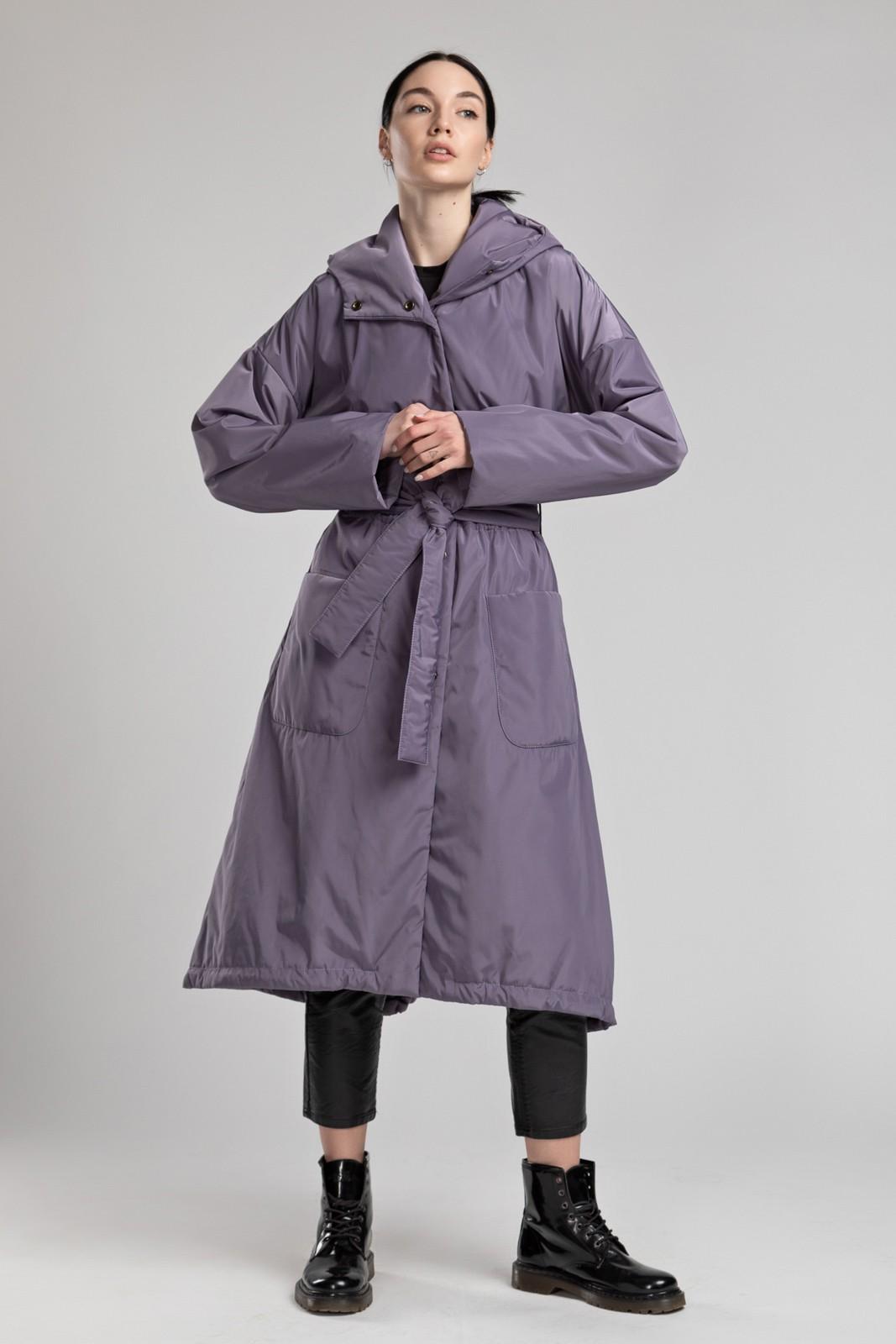 Плащ с капюшоном Lavender PL0234