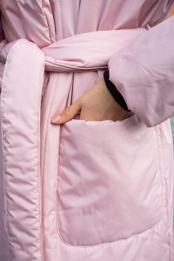 Пуховик-одеяло c капюшоном Powdery