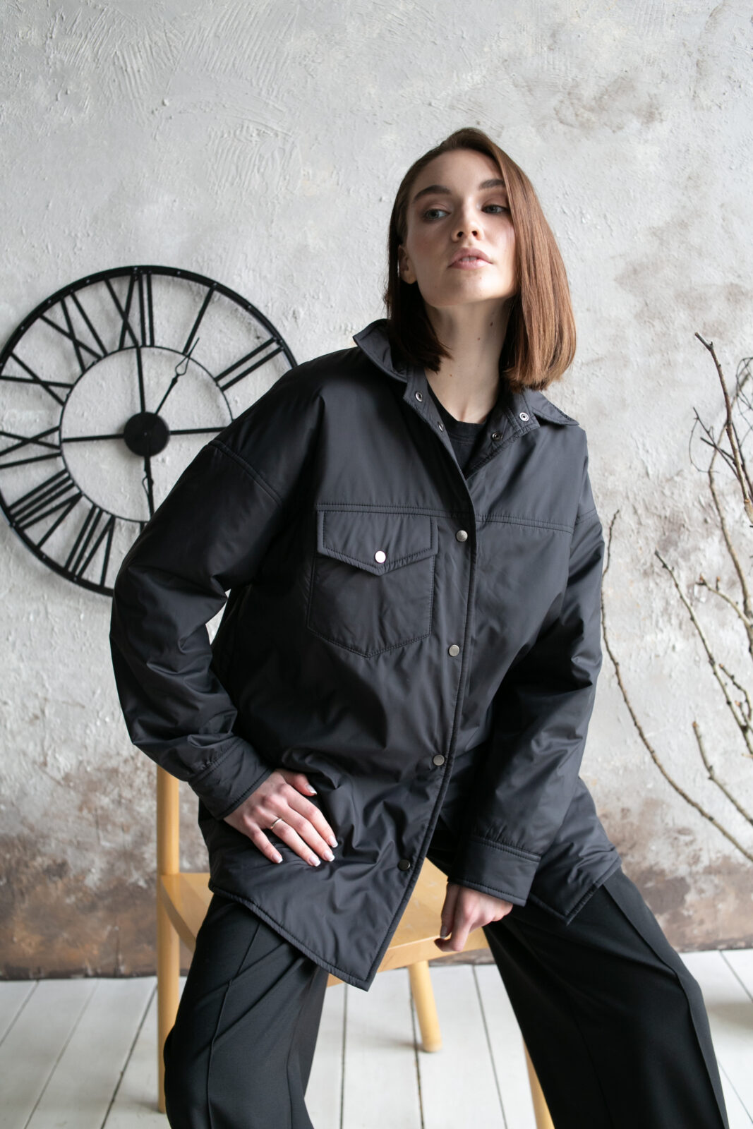 Куртка-рубашка Black