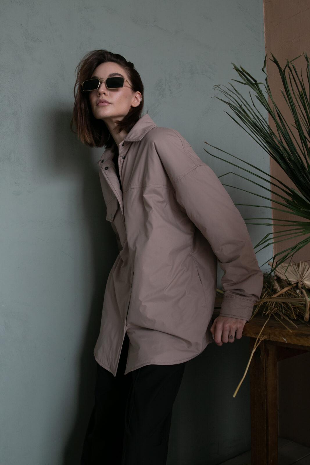 Куртка-рубашка Beige
