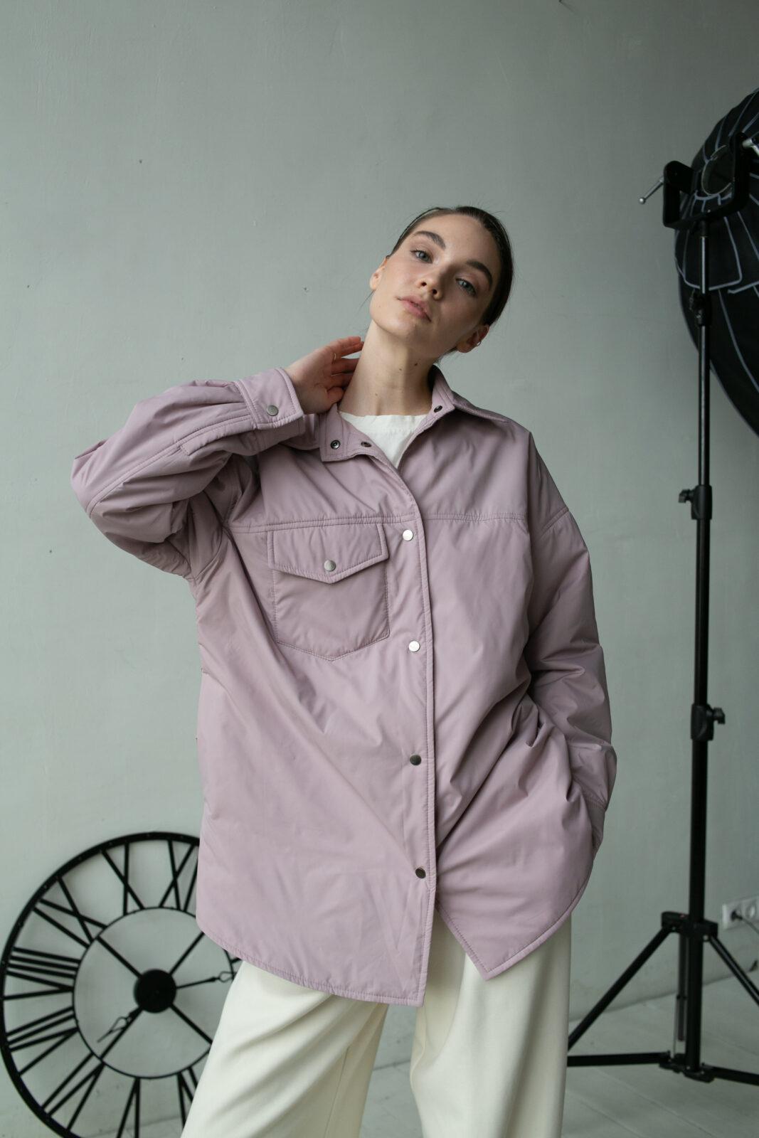 Куртка-рубашка Smoky powdery