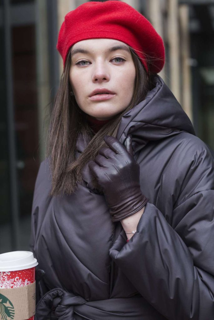 Пуховик - одеяло с капюшоном